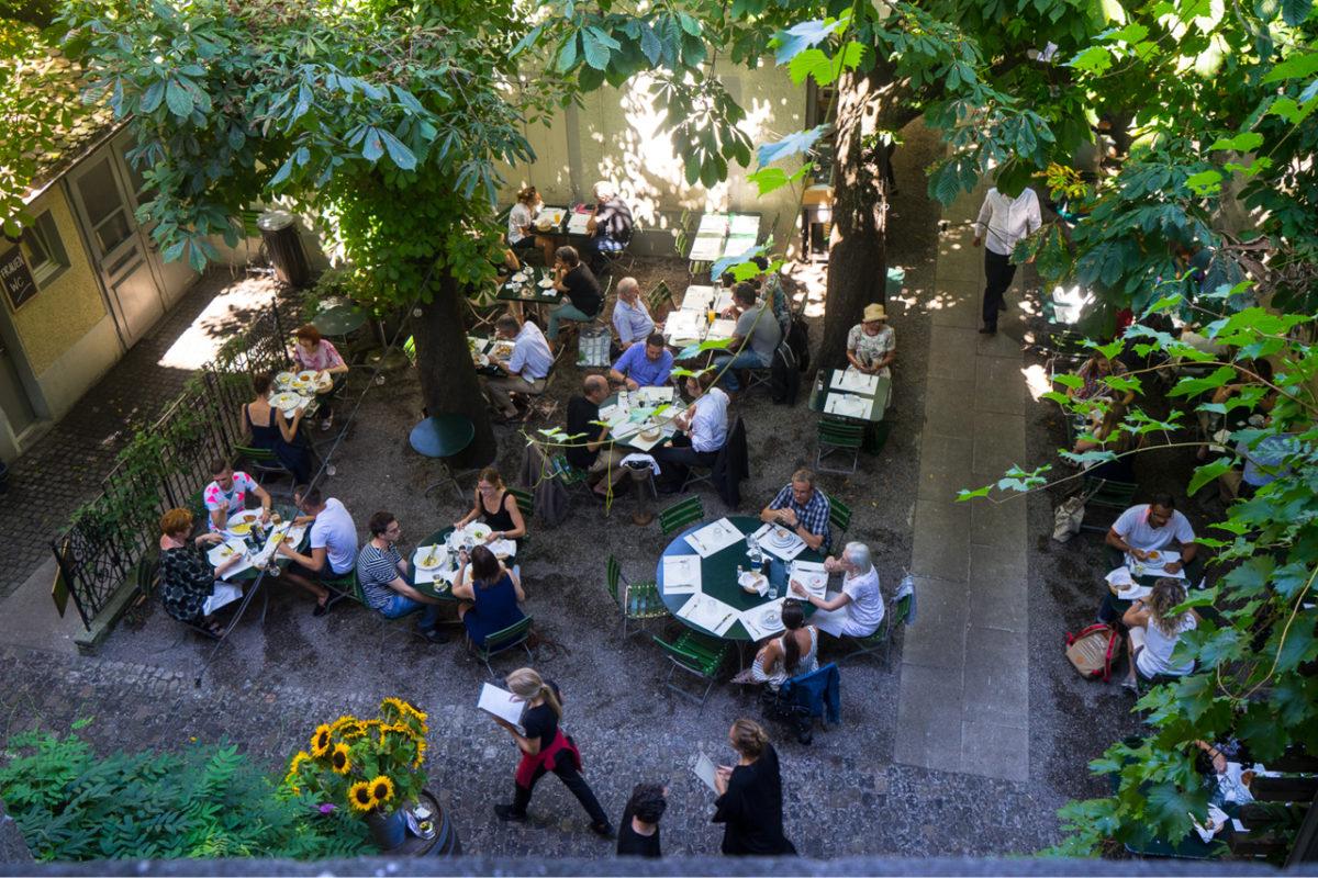 Fünf nachhaltige Restaurants, die glücklich machen