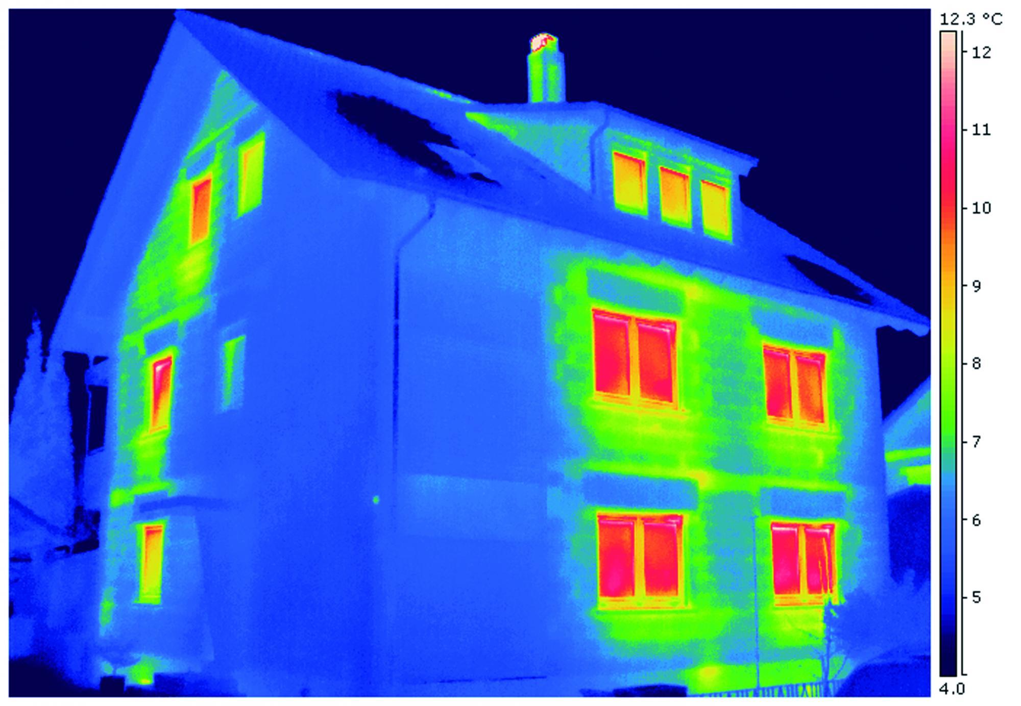 Où ta maison perd-elle de la chaleur?