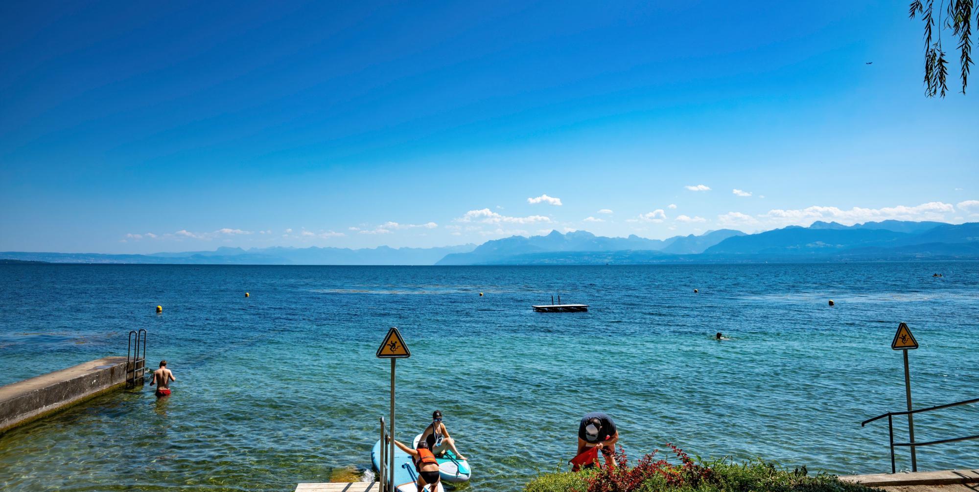 Entspannt am See statt gestresst am Meer